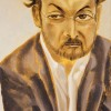 Salman Rushdie by Francesco Clemente